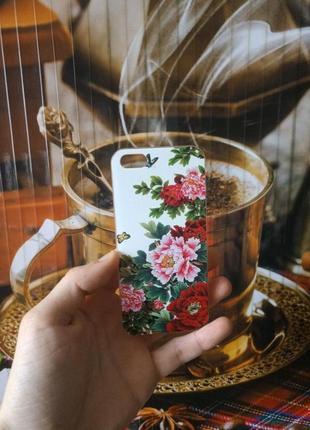 Чехол для iPhone 5, 5S, SE (пластик)