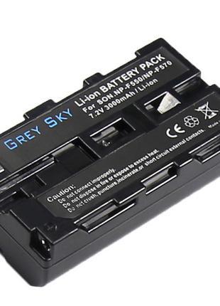 Аккумулятор Sony NP-F550: NP-F750, NP-F950, NP-F970, NP-F570
