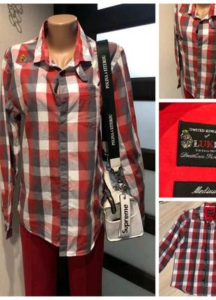 Тонкая лёгкая рубашка кофточка блузка
