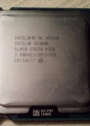 Процессор Intel Xeon X5450 - 4 ядра по 3,00 ГГц / 12МБ / 1333 МГц