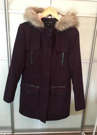 Трендовое пальто-куртка цвета марсала от dorothy perkins