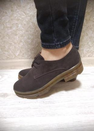 Шикарные туфли - натуральная замша!
