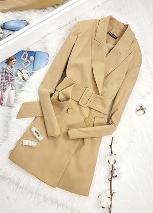 Платье - жакет пиджак