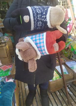 Мягкая игрушка-электрогрелка, подушка.  Муфта для рук и тела.4 в1