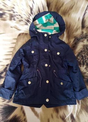 Плащ куртка дитяча на флісі next