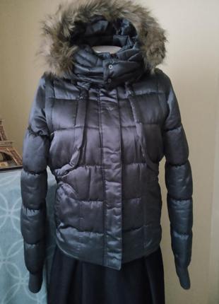 Тепла зимова куртка- жилетка 2в1 vero moda