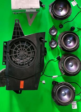 Комплект акустики Harman/Kardon(Logic7) для Mercedes w211