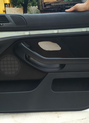 Карта, BMW, e39, двери, даверные, карты, облицовка, салон