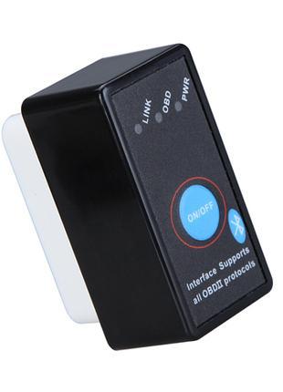 Автосканер ELM327 OBD2 с кнопкой