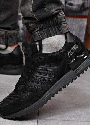 Кроссовки мужские 18164  adidas zx 750, черные
