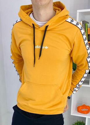 Худи adidas оранжевый