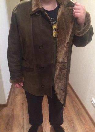 Мужская итальянская дубленка desperado 58-60