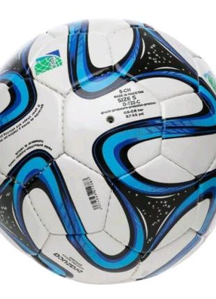 Мяч игровой футбольный полиуретан, с 3-мя слоями футбольный 896-2