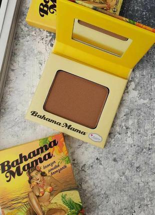 Бронзер thebalm bahama mama bronzer 3g