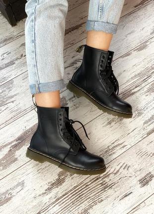 🌺dr martens 1460 black🌺осенние женские ботинки мартинс, весенн...