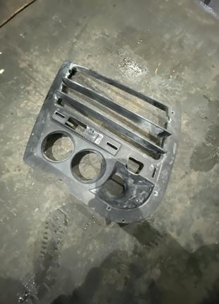 Решотка переднего бампера на Porsche Cayene TECHART