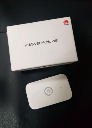 Модем 3G / 4G Lte  Wi-Fi роутер HUAWEI E5573Cs-322  почти новый