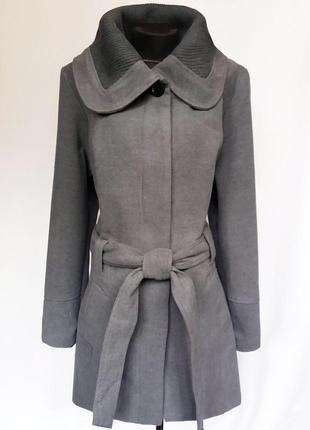 Суперцена. стильное кашемировое пальто. новое, р. 50-52