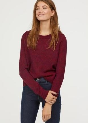 H&m divided xs базовый женский трикотажный свитер пуловер джем...