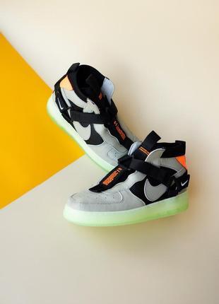 Nike air force high neon.
