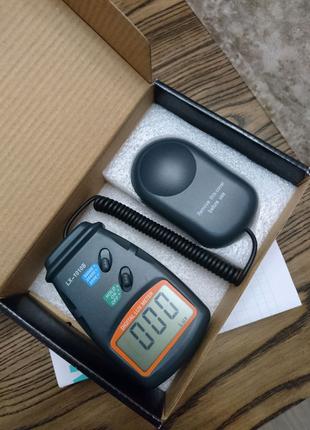 Люксметр Digital Luxmeter LX-1010B с выносным датчиком