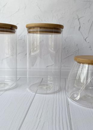 Универсальные баночки для хранения сыпучих продуктов
