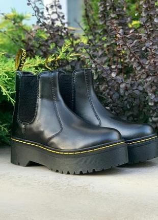 Dr. martens chelsea bex. женские сапоги/ботинки мартинс, кожа ...