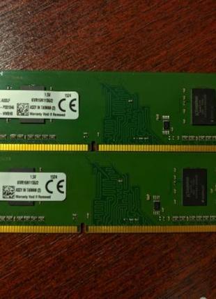 ОЗУ Kingston DDR3 2gb kvr16n11s6/2 1600