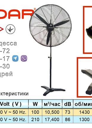 Напольные и настенные вентиляторы DUNDAR серии SV