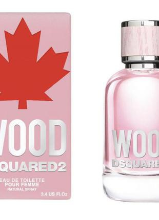 Туалетная вода dsquared2 wood pour femme 30 ml