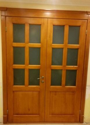 Продам дерев'яні двері, нові