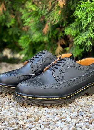 🔥dr martens 3989 black🔥мужские/женские туфли мартинс, кожаные ...