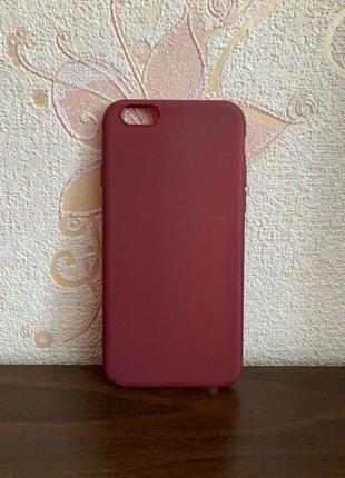 Новый чехол iPhone 6,6S айфон силикон