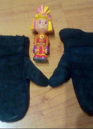 Теплые варежки, рукавицы