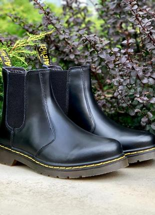 🍁dr martens chelsea black🍁мужские/женские осенние ботинки/сапо...