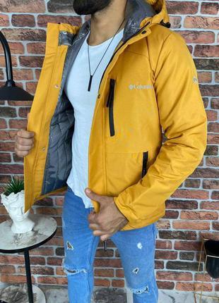 Топовая демисезонная мужская куртка columbia