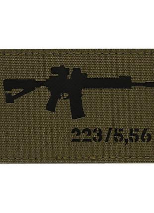Нашивка M-Tac AR-15 223/5,56 Laser Cut
