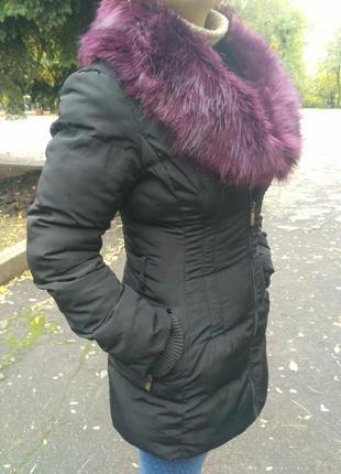 Пальто, теплое, пуховик, куртка, курточка, женская, осень, зима.