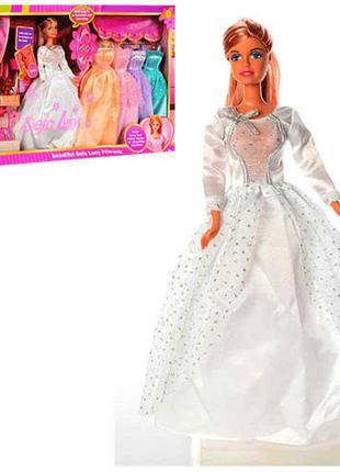Кукла с нарядом DEFA 6073 29 см, аксессуары, кот, обувь