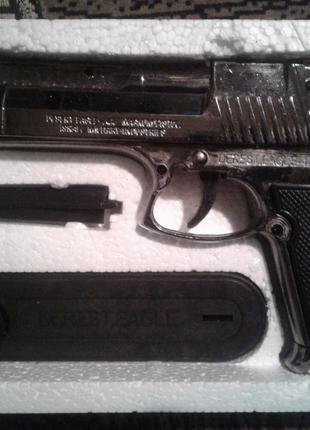 Зажигалка Пистолет Desert Eagle-44 (Турбо пламя)