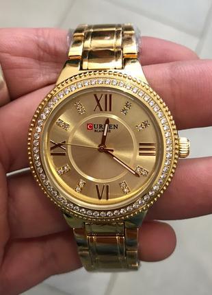 Наручные часы Curren 9004 Gold Наручний годинник, часи