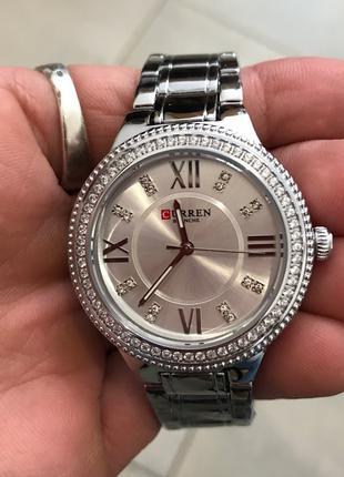 Наручные часы Curren 9004 All Silverd Наручний годинник, часи