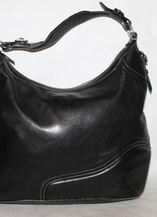 Polo ralph lauren кожаная сумка