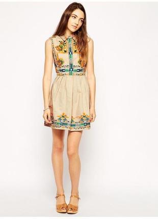 Платье с вышивкой asos