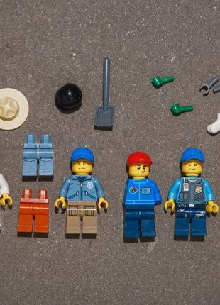 Продам детали и фигурки Лего Lego City Оригинал