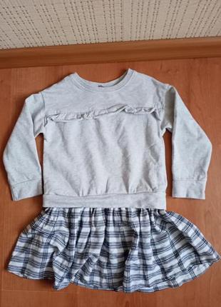 Платье на девочку 3-4 лет.