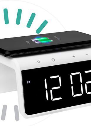 Умные часы с беспроводной зарядкой Gelius Pro Smart Time Bridge У