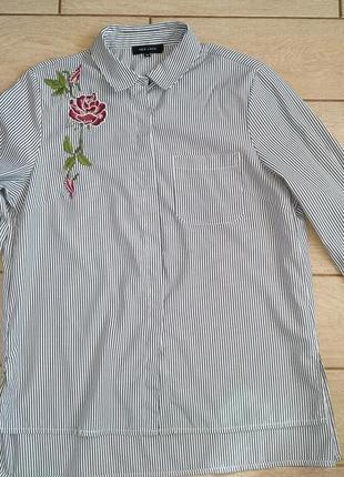 Рубашка,блуза с вышивкой