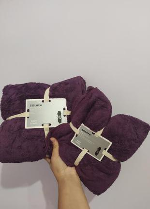 Набор полотенец сауна+ лицо полотенца из микрофибры (сауна+лицо)