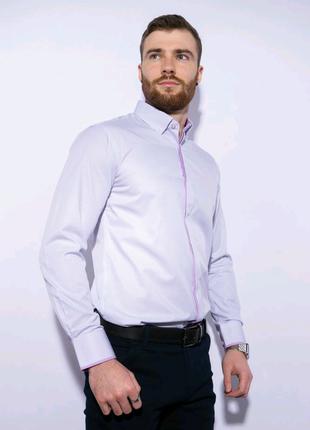 Рубашка в мелкую полоску120PAR046